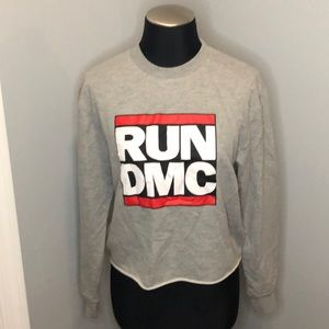 RUn DMC Cropped Sweatshirt